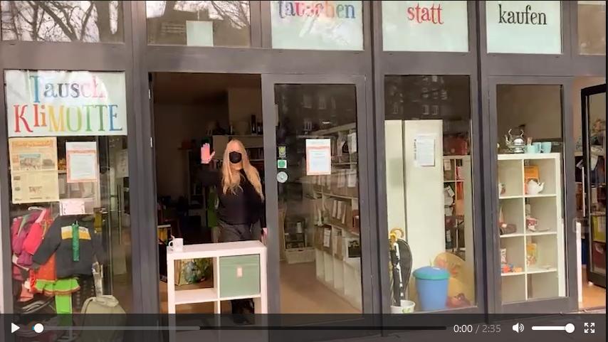 Video Click & Collect Tauschklimotte